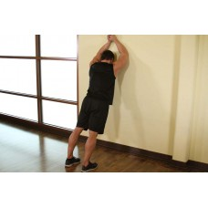 Calf Stretch Elbows Against Wall