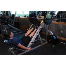 Calf Press On The Leg Press Machine